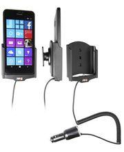Brodit držák do auta na Microsoft Lumia 640 XL bez pouzdra, s nabíjením z cig. zapalovače