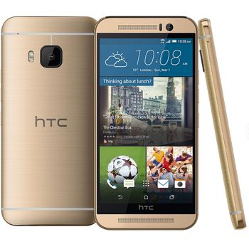 HTC ONE (M9) Gold on Gold