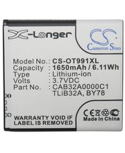 Baterie pro Alcatel One Touch 6010D,991,992 (ekv.TLiB32A)