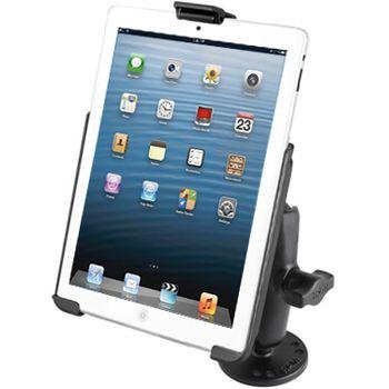 RAM Mounts držák na iPad mini do auta na palubní desku, skútr, atd. na šroubky nebo vruty, AMPS, plast, sestava RAM-B-138-AP14U