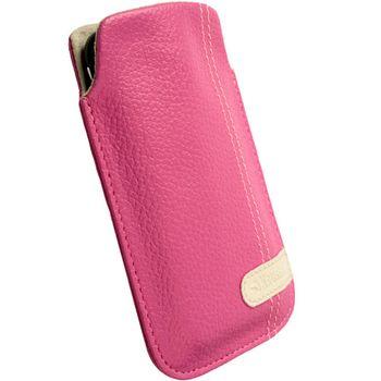 Krusell pouzdro Gaia Pouch XL - HTC HD7/HD2/Legend/Touch HD  66x114x15mm (růžová)