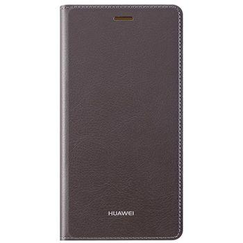 Huawei flipové pouzdro pro P8 Lite, hnědé