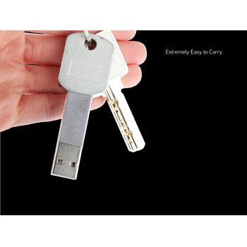 Brando redukce microUSB - USB male na klíče