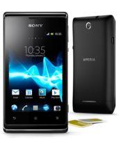 Sony Xperia E dual černá