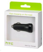HTC autonabíječka CC C600 s microUSB kabelem, 2A, černá