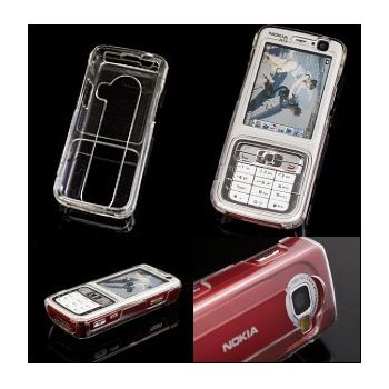 Transparentní pouzdro Brando Crystal - Nokia N73