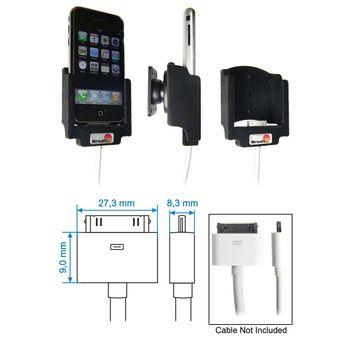 Brodit držák pasivní pro  Apple iPhone - použití s kabely Apple Composite, Component AV Cable