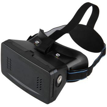 Brýle pro virtuální realitu (ekv.Cardboard), plastové + dálkový ovladač