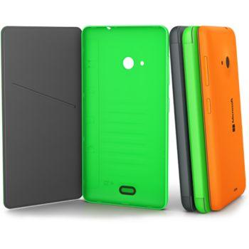 Nokia CC-3092 flip pouzdro Nokia Lumia 535, šedá