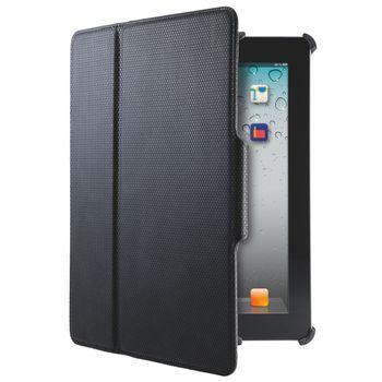 Leitz pevné pouzdro Complete Tech Grip pro Nový iPad/ iPad 2, černá