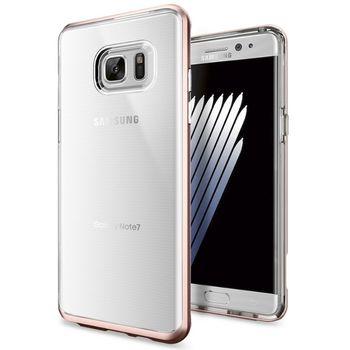 Spigen ochranný kryt Neo Hybrid Crystal pro Galaxy Note 7, růžové