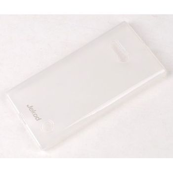Jekod TPU silikonový kryt Nokia Lumia 730, bílá