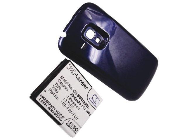 obsah balení Baterie pro Samsung Galaxy S III Mini, rozšířená, 3000mAh li-ion + univerzální nabíječka bateriíí