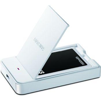 Samsung originální baterie s nabíjecí stanicí EB-S1P5GNE pro Samsung Galaxy Camera, S II, bílá