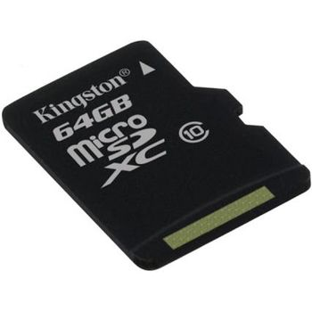 Kingston microSDXC 64GB Class 10 paměťová karta + SDXC adaptér