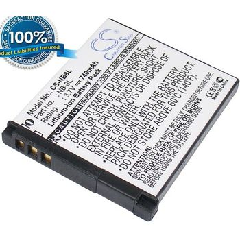Baterie (ekv. NB-8L) pro Canon Powershot A3000 IS, A3100 IS, Li-ion 3,7V 740mAh