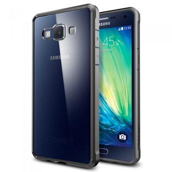 Spigen tenký kryt Ultra Hybrid pro Samsung Galaxy A5, kovově šedá