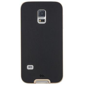 Case Mate ochranné pouzdro Slim Tough pro Samsung Galaxy S5 Mini, černo-zlatá