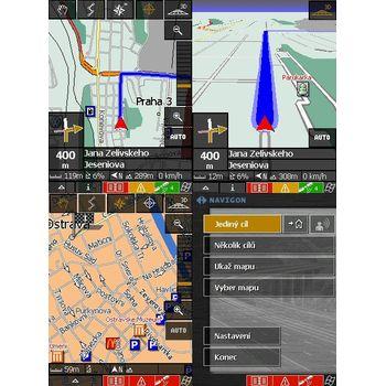 Navigon Mobile Navigator 4 - ČR, Evropa