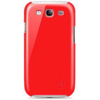Belkin Shield pevné plastové pouzdro pro Samsung Galaxy S III, rubínové (F8M402cwC05)