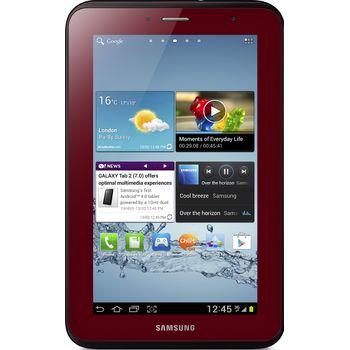 Samsung GALAXY Tab 2 7.0 Wi-Fi + 3G P3100, 8GB, červený