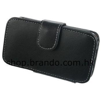 Pouzdro kožené Brando Side Open - iPhone 3G (černá)