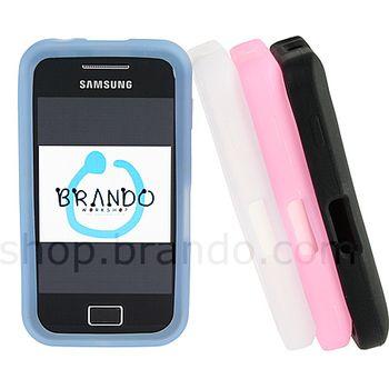 Silikonové pouzdro - Samsung S5830 Galaxy Ace (černá)