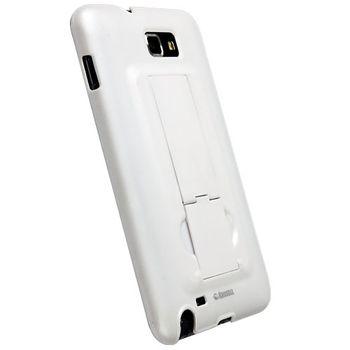 Krusell hard case se stojánkem - ActionCover - Samsung Galaxy Note  (bílá)