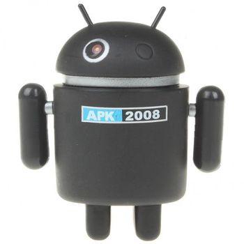 Figurka Android robot - černý