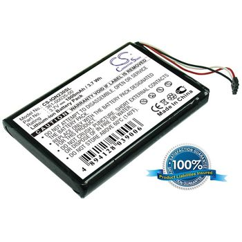 Baterie pro Garmin Nüvi 2360T, Li-ion 3,7V 1000mAh