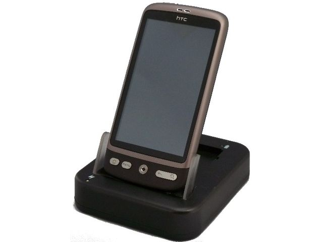 obsah balení Kolébka SC USB Cradle - HTC Desire + náhradní baterie 1200 mAh