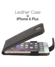 Brando kožené pouzdro Flip Top pro Apple iPhone 6 Plus, černé
