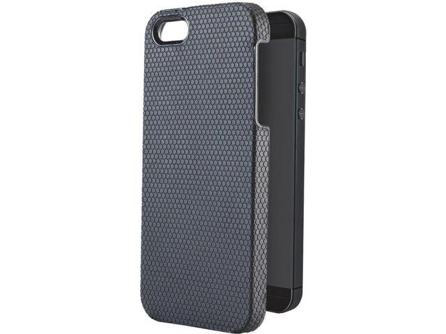 obsah balení Leitz kryt Tech Grip pro iPhone 5, černá