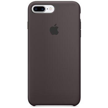 Apple silikonový kryt pro iPhone 7 Plus, kakaově hnědý