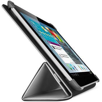 Belkin Tri-Fold Folio pouzdro pro Samsung Galaxy Tab 2 10.1, černá PU kůže (F8M394cwC00)