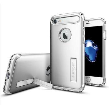 Spigen ochranný kryt Slim Armor pro iPhone 7, stříbrná