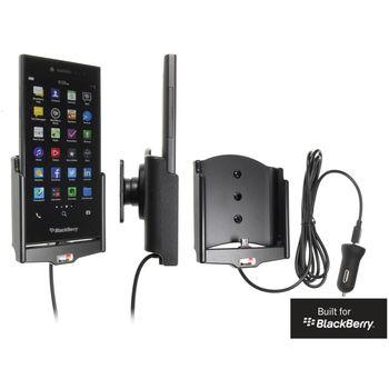 Brodit držák do auta na BlackBerry Leap bez pouzdra, s nabíjením z cig. zapalovače/USB