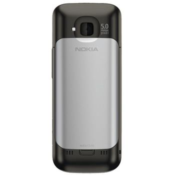 Nokia C5-00.2 5MP Warm Grey + záložní zdroj a nabíječka Belkin Battery Pack 1000mAh (vč.micro USB kabelu) F8M158cw