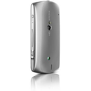 Sony Ericsson Xperia Neo V stříbrná + Prémiová fólie Krusell