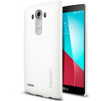 Spigen pouzdro Thin Fit pro LG G4, bílá