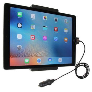 Brodit držák do auta na Apple iPad Pro bez pouzdra, s nabíjením z cig. zapalovače/USB