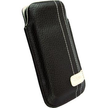 Krusell pouzdro Gaia Pouch L - iPhone 4, HTC Desire/Wildfire, Nokia 5800/C6 116x62x12mm (hnědá)