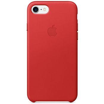Apple kožený kryt pro iPhone 7, červený