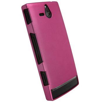 Krusell hard case - ColorCover - Sony Xperia U  (růžová metalíza)