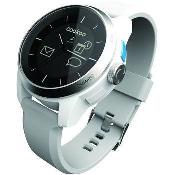 Cookoo watch - Bluetooth 4.0 hodinky pro iOS bílé