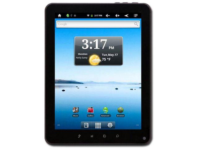 "obsah balení Prestigio Multipad PMP5080CPRO, Android 4, 8"" display 800x600, Wi-Fi, 8GB flash, černá"