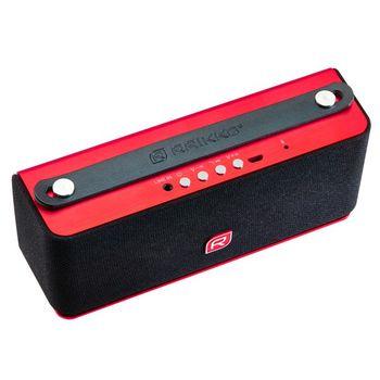 Raikko reproduktor Heavy Metal Bluetooth Stereo, červený