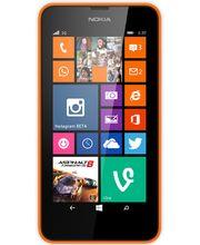 Nokia Lumia 630 DualSim oranžová + černý kryt zdarma