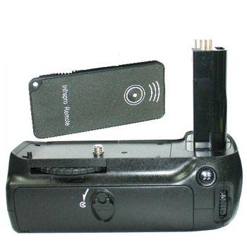 Grip bateriový pro NikonD80, D90, pro 6ks AA nebo 2ks ENEL3E, IrDA