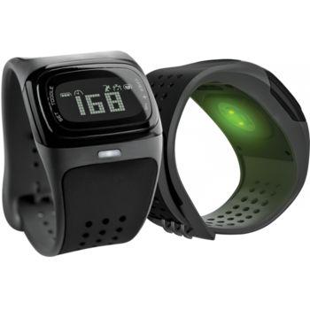MIO Alpha 2 sportovní hodinky se senzorem srdečního tepu, černá